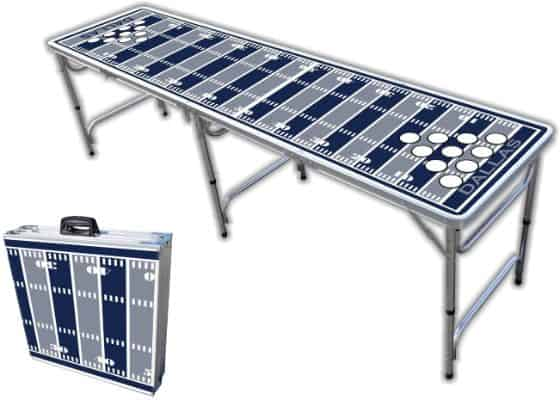 8-Foot Professional Beer Pong Table w:Optional Cup Holes