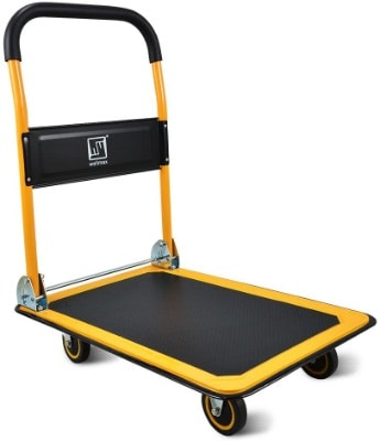 Hand Truck With Swivel Wheels
