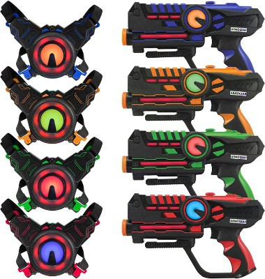 Laser Tag Guns Set With Vest