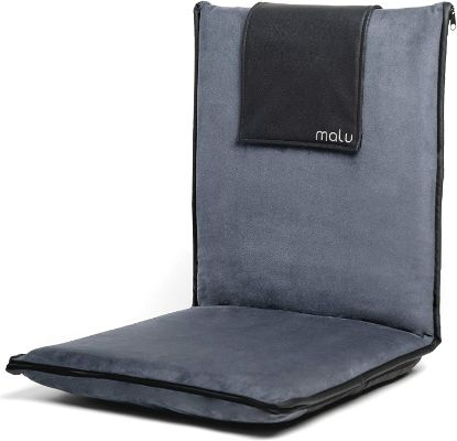 Padded Floor Flip Chair With Back Support