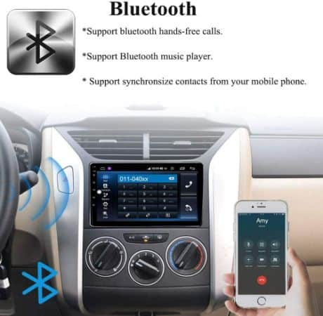 Single Din Touch Screen in-Dash Android Car