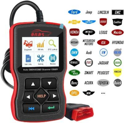 OS601 OBD2 Scanner Universal Automotive Engine Fault Code Reader
