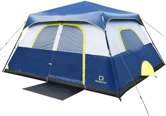 Tents, 4:6:8:10 Person 60 Seconds Set Up Camping Tent