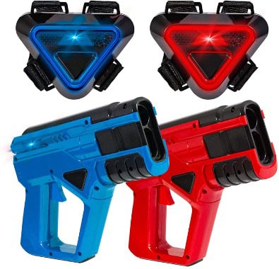 Two-Player Toy Laser Tag Gun Set