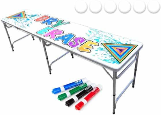 8-Foot Beer Pong Table w:Optional Cup Holes
