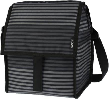 Freezable Deluxe Large Lunch Bag with Shoulder Strap