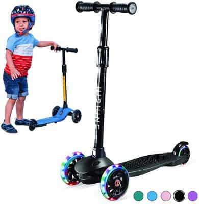 Kick Scooter for Kids Boys Girls, 3 Wheel Scooter