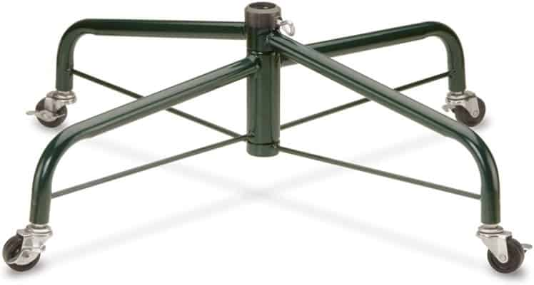 Christmas Tree Stand With Rolling Wheels