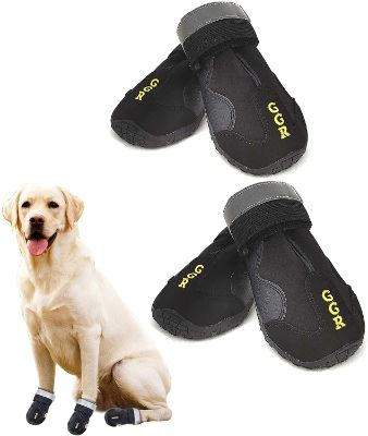 Dog Shoes Pet Winter Boots 4 Pcs Outdoor Waterproof