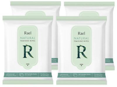 Feminine Wet Wipes with Natural Ingredients
