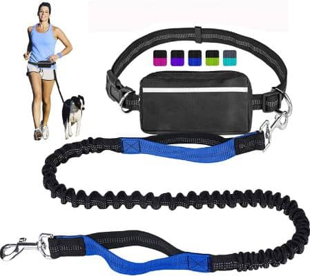 Hands Free Dog Leash for Running Walking Training Hiking