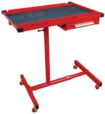 Heavy Duty Mobile Work Table With Drawer