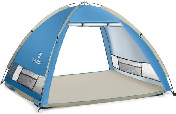 Large Pop Up Beach Tent New Large Anti UV Sun Shelter Tents