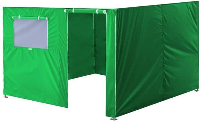 Pop Up Canopy With Full Zippered Walls
