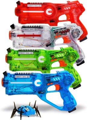 Transparent Laser Tag Gun Set
