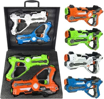 Battle Blaster Laser Gun Mega Pack With Carrying Case