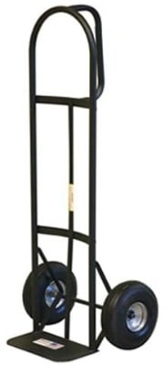 D-Handle Hand Truck With Pneumatic Tires