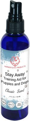Dog Repellent and Training Aid for Puppies and Dogs