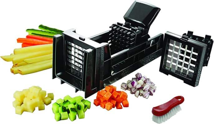 French Fry Cutter and Easy Vegetable Dicer Chopper