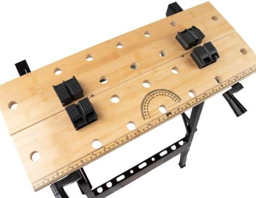 Portable Deluxe Bamboo Workbench Top