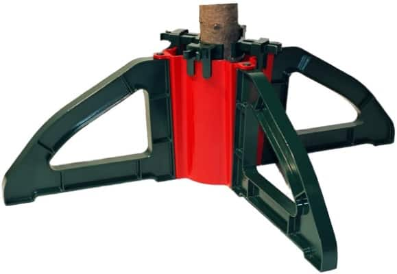 Christmas Tree Stand With Unbreakable Nylon Clamps