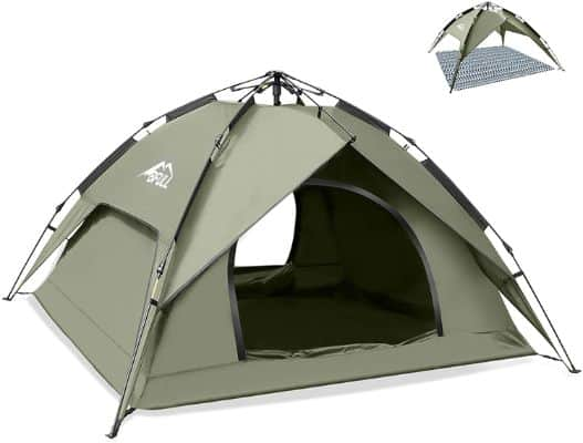 Instant Pop Up Camping Tents for 2-3 Person Family