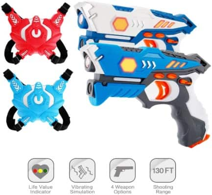Laser Tag Gun Set For Kids