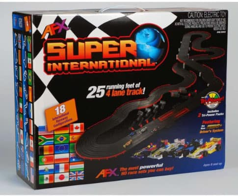 Power HO Slot Car Set