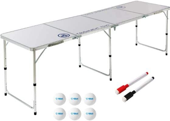 8 Foot Beer Pong Table 3 Style Options
