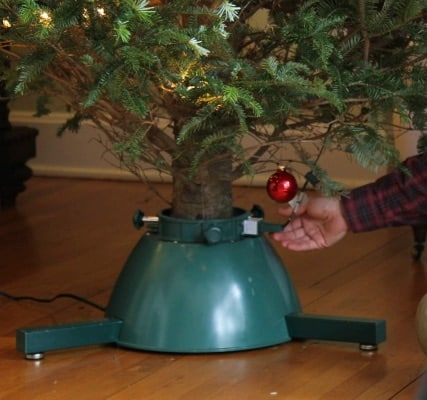 Automatic Rotating Christmas Tree Stand With Remote Control
