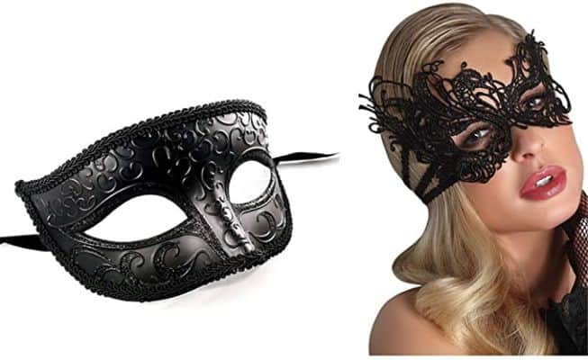 Lace Masquerade Mask Elastic, Fit for Adult, Soft Gentle Material