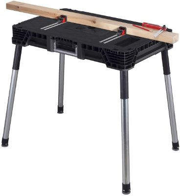 Portable Workbench With Wood Clamps