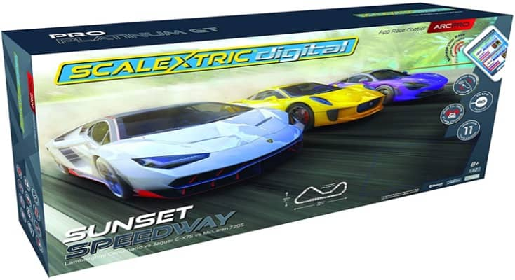 Sunset Speedway Slot Car Set