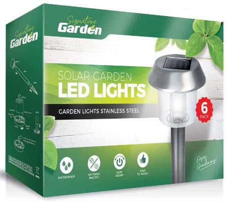 Super Bright Solar Garden Light Pack