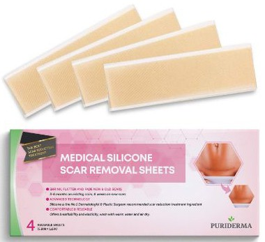 Puriderma Medical Silicone Scar Removal Extra Large Sheets