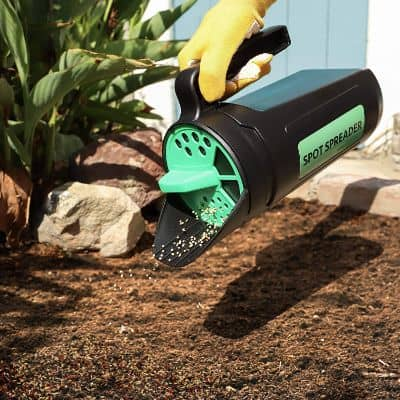 Spot Spreader Hand Spreader Shaker for Seed, Salt, De-Icer, Ice Melt, Earth Food, and Fertilizer