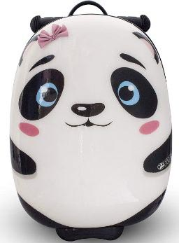 ZincFlyte Kid's Luggage Scooter 18 - Polly the Panda
