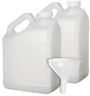 2 Pack - 1 Gallon Plastic Bottle