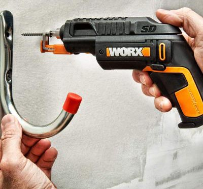 WORX WX255L SD Semi-Automatic Power Screw Driver with Screw Holder