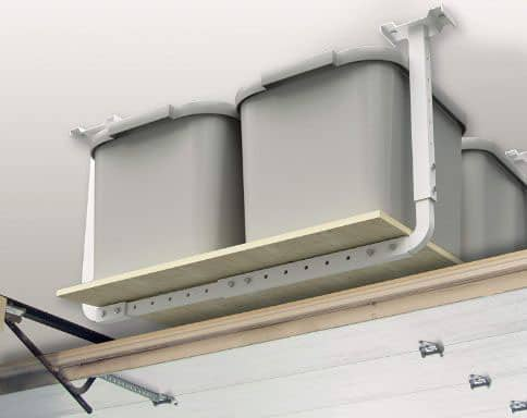 HyLoft 80842-10 33 in. x 34 in. Adjustable Garage Ceiling Mount Storage