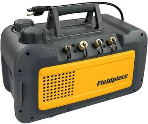 Fieldpiece Black Vp85 Two Stage 8 Cfm Vacuum Pump
