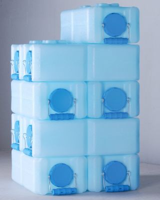 WaterBrick 1833-0001 Stackable Emergency Water