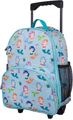 Wildkin Mermaids Rolling Luggage