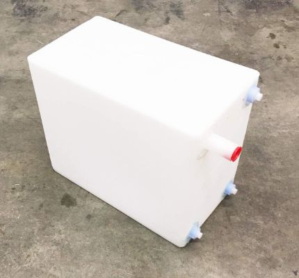 A.A 10 Gallon RV Fresh:Gray Water Tank - 17 x 14 x 10
