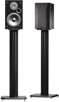 SANUS BF31-B1 31 Speaker Stands for Bookshelf Speakers