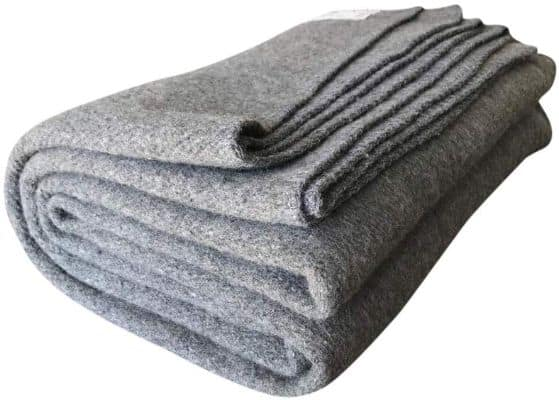 Woolly Mammoth Woolen Co. | Extra Large Merino Wool Camp Blanket | The Perfect Outdoor