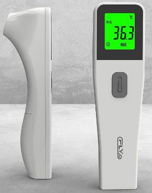 Forehead Thermometer, 4-in-1 Professional Precision Digital Thermometer with Fever Alarm, Forehead