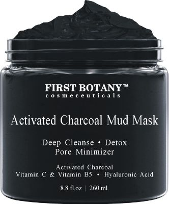 Activated Charcoal Mud Mask 8.8 fl oz.