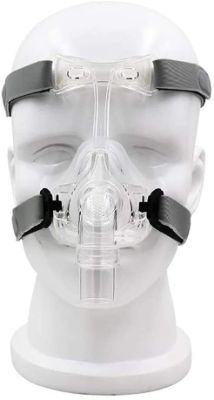 Comfortable Mask Nasal Adjustable with Headgear(M)