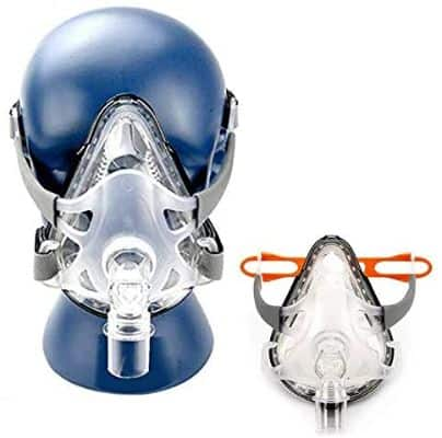 Full Face Adjustable Mask for Sleep with Adjustable Headgear Clips